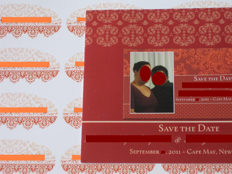 Vistaprint save the date